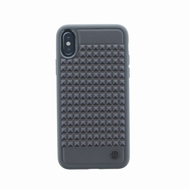 iPhone XS/iPhone X シェル型ケース/耐衝撃/Cloute/Shadows(Grey)