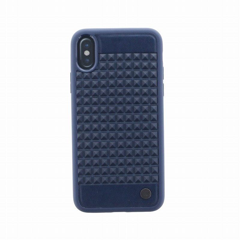 iPhone XS/iPhone X シェル型ケース/耐衝撃/Cloute/Indigo(Blue)