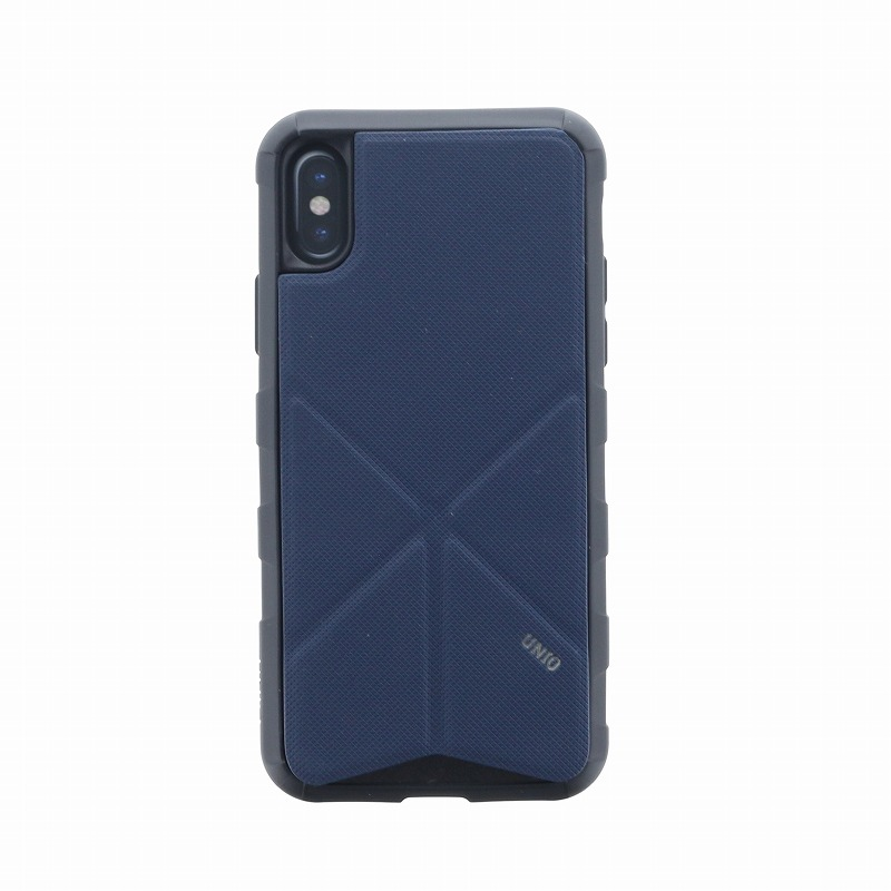 iPhone XS/iPhone X シェル型ケース/タフPU/Transforma Rigor/Electric(Blue)