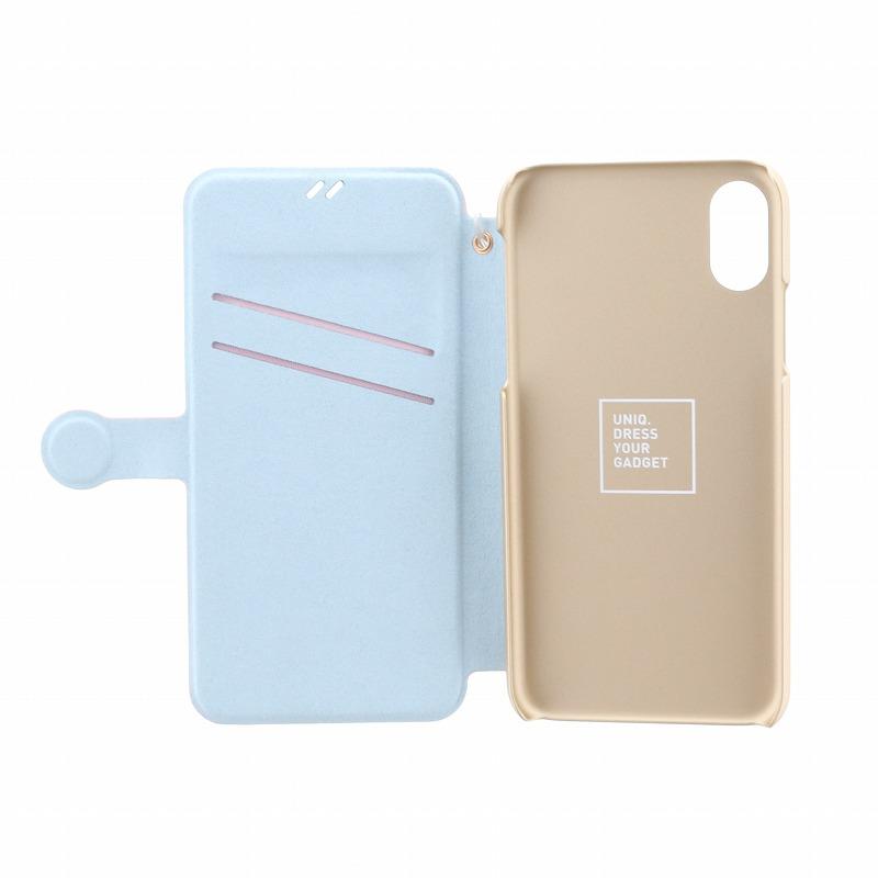 iPhone XS/iPhone X 手帳型ケース/PUレザー/Lolita/Lolly Pop(Pink)