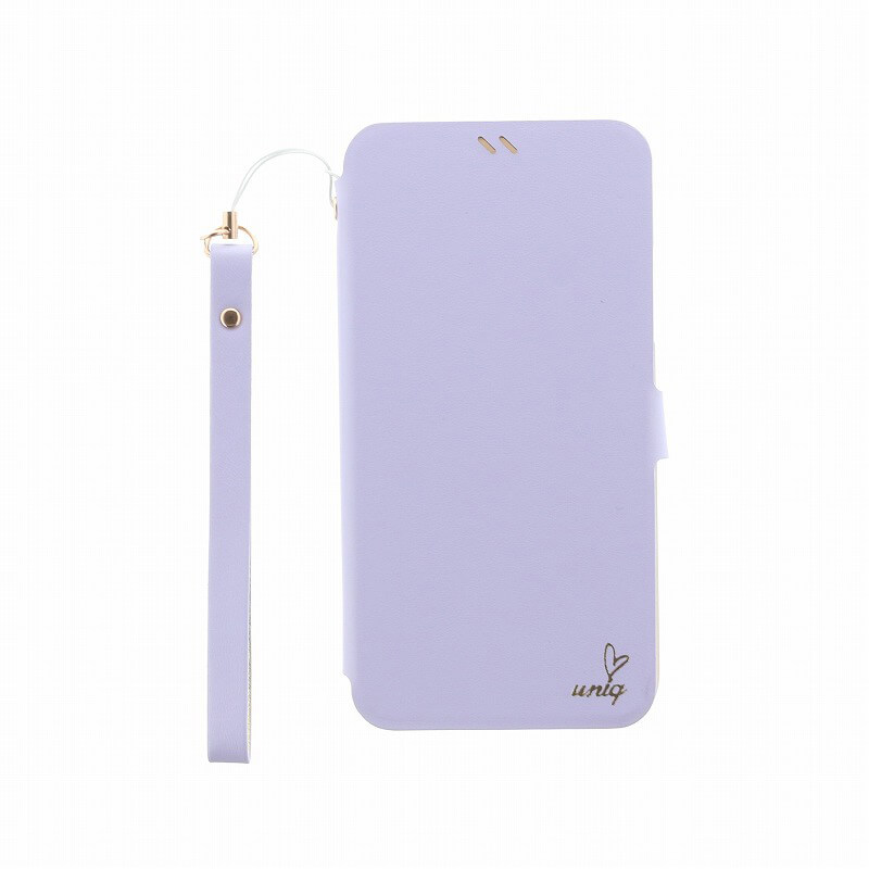 iPhone XS/iPhone X 手帳型ケース/PUレザー/Lolita/Lilac Dream(Purple)