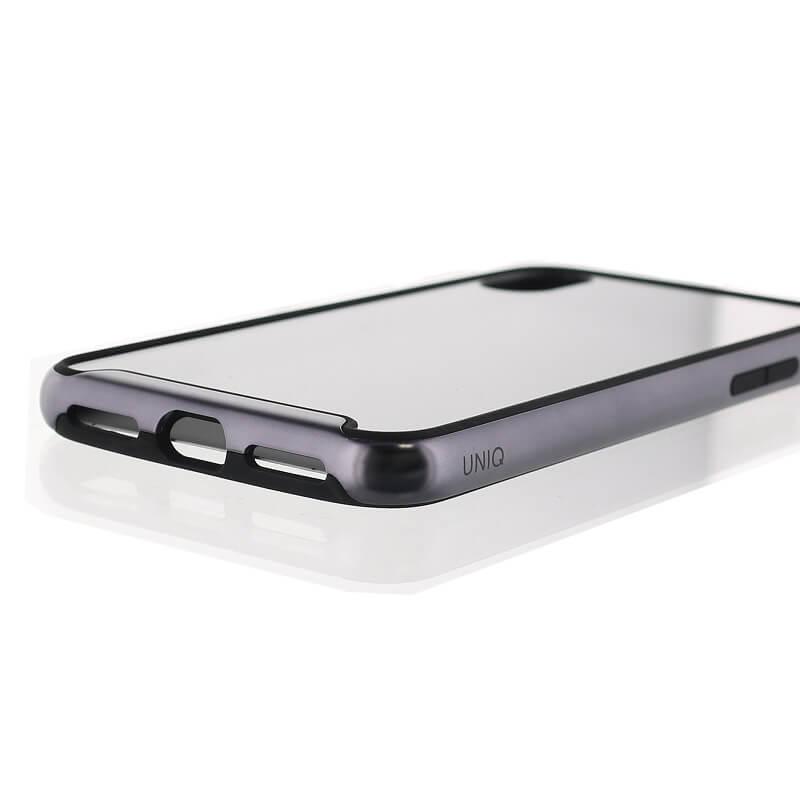 iPhone XS/iPhone X シェル型ケース/耐衝撃/Aeroporte Plus/Slate(Gunmetal )