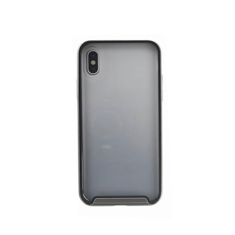 iPhone XS/iPhone X シェル型ケース/耐衝撃/Aeroporte Plus/ Chrome(Silver)