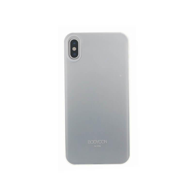 iPhone XS/iPhone X シェル型ケース/ウルトラスリムシェル/Bodycon/Dove(Translucent Clear)
