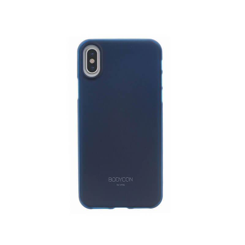 iPhone XS/iPhone X シェル型ケース/ウルトラスリムシェル/Bodycon/Navy(Navy Blue)