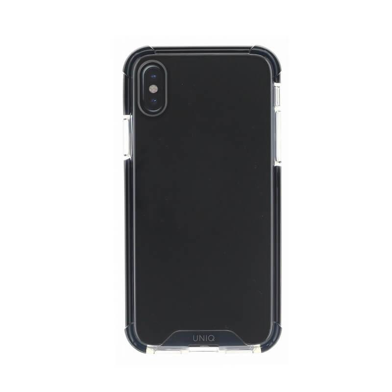 iPhone XS/iPhone X シェル型ケース/耐衝撃/Combat/Carbon(Black)