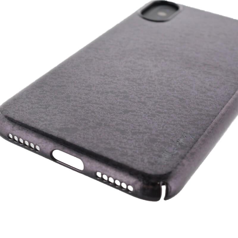 iPhone XS/iPhone X シェル型ケース/グリッター/Topaz/Obsidian(Black)