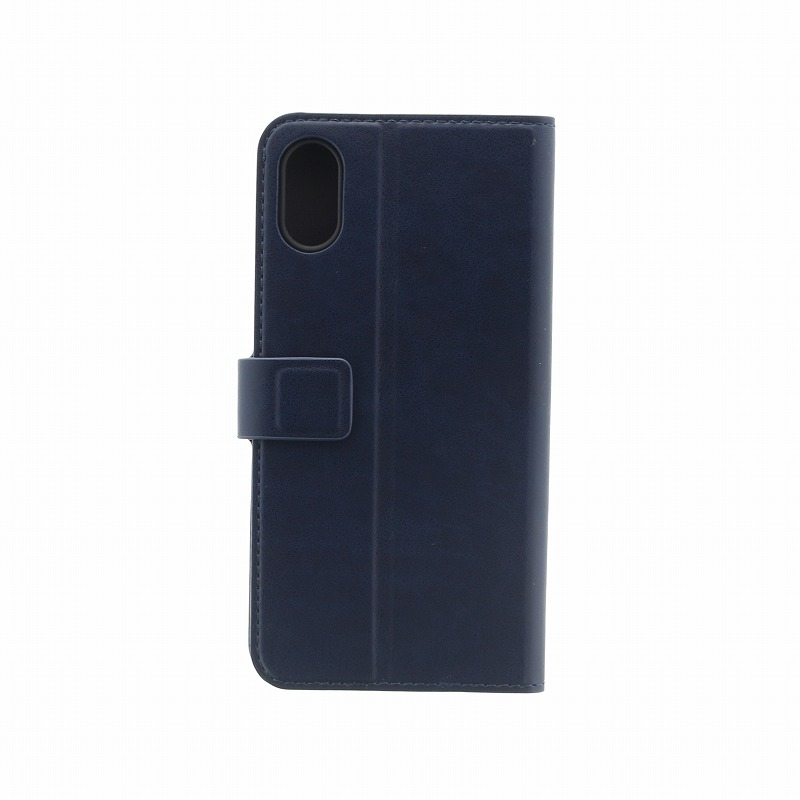 iPhone XS/iPhone X 手帳型ケース/PUレザー/Journa Heritage/Marin(Navy Blue)