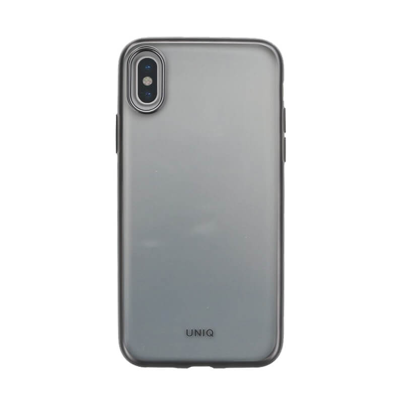 iPhone XS/iPhone X シェル型ケース/メタルソフト/Clear Luxe Glacier Frost/Gunmetal Froz(Gunmetal)