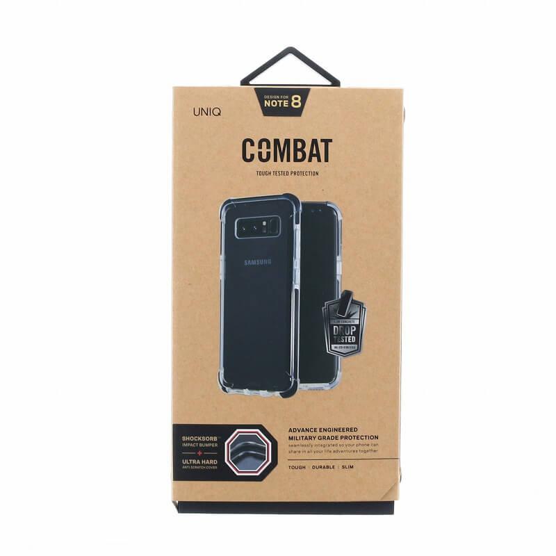 Galaxy Note8 SC-01K/SCV37/シェル型ケース/ハイブリッド/Combat/Carbon(Black)