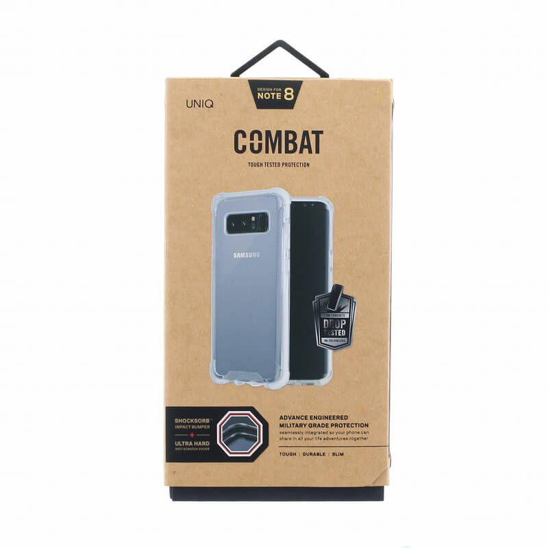 Galaxy Note8 SC-01K/SCV37/シェル型ケース/ハイブリッド/Combat/Blanc(White)