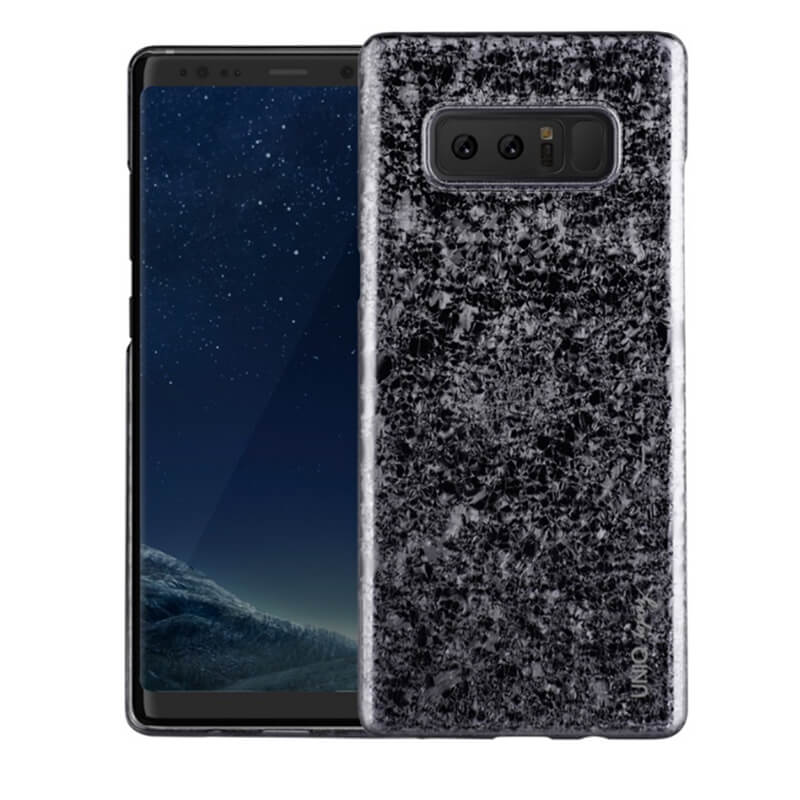 Galaxy Note8 SC-01K/SCV37/シェル型ケース/グリッターデザイン/Topaz/Obsidian(Black)
