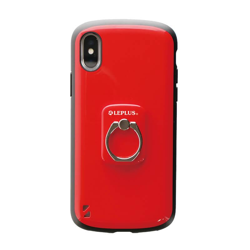 スマートフォン(汎用) スマートフォンリング 「Grip Ring/PALLET」 レッド