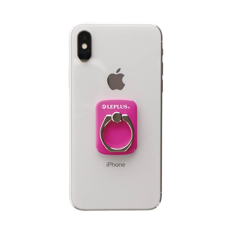 スマートフォン(汎用) スマートフォンリング 「Grip Ring/PALLET」 ホットピンク
