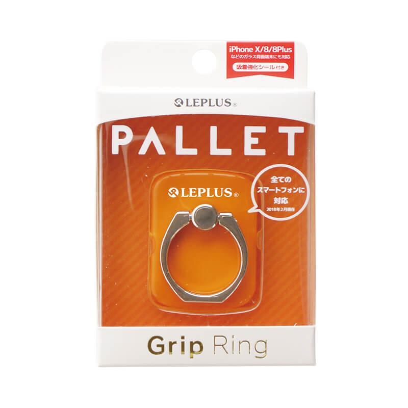 スマートフォン(汎用) スマートフォンリング 「Grip Ring/PALLET」 オレンジ