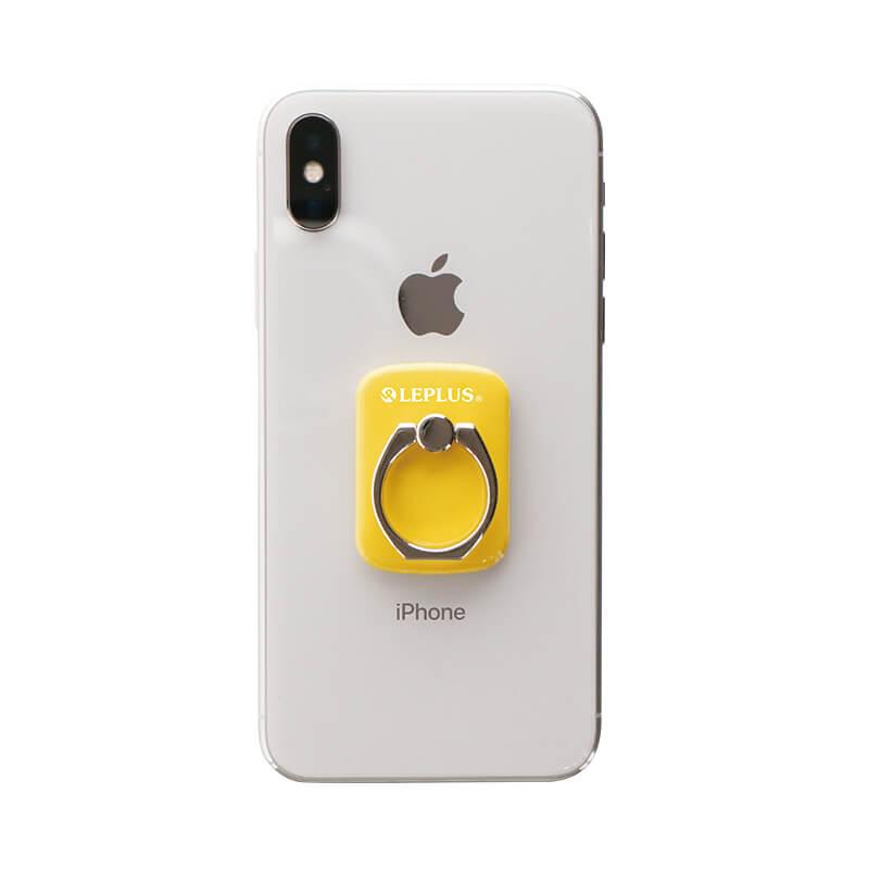 スマートフォン(汎用) スマートフォンリング 「Grip Ring/PALLET」 イエロー