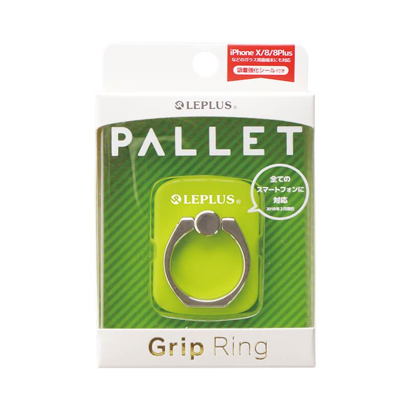スマートフォン(汎用) スマートフォンリング 「Grip Ring/PALLET」 グリーン