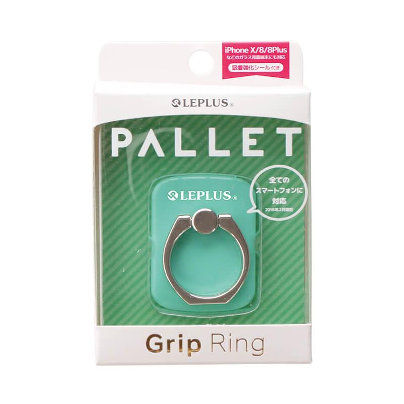 スマートフォン(汎用) スマートフォンリング 「Grip Ring/PALLET」 ミントグリーン
