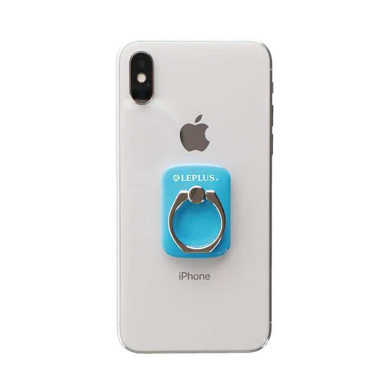 スマートフォン(汎用) スマートフォンリング 「Grip Ring/PALLET」 スカイブルー