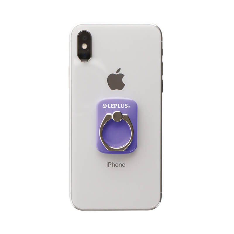 スマートフォン(汎用) スマートフォンリング 「Grip Ring/PALLET」 パープル