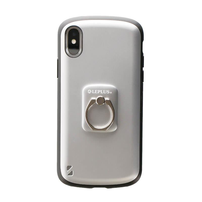 スマートフォン(汎用) スマートフォンリング 「Grip Ring/PALLET」 メタルシルバー