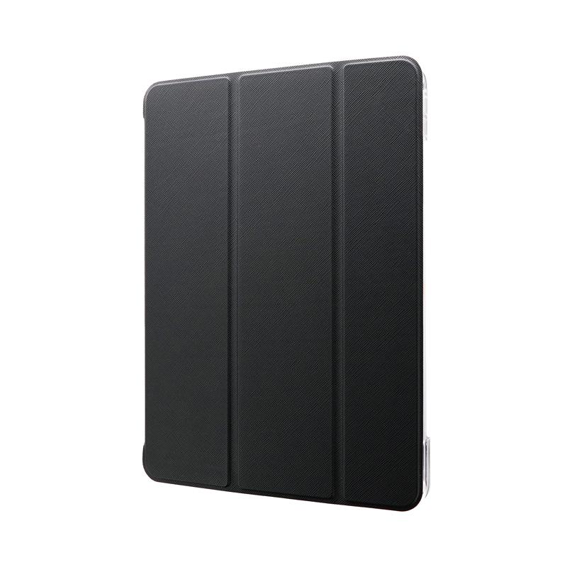 iPad Pro 2020 (11inch) 背面クリアフラップケース「Clear Note」 ブラック
