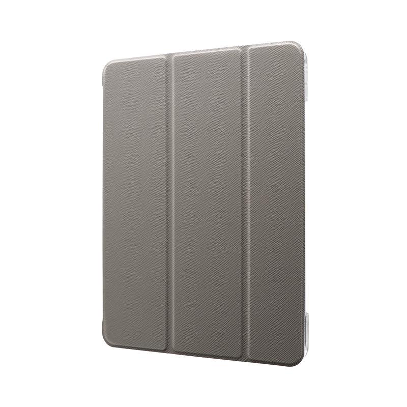 iPad Pro 2020 (11inch) 背面クリアフラップケース「Clear Note」 グレー