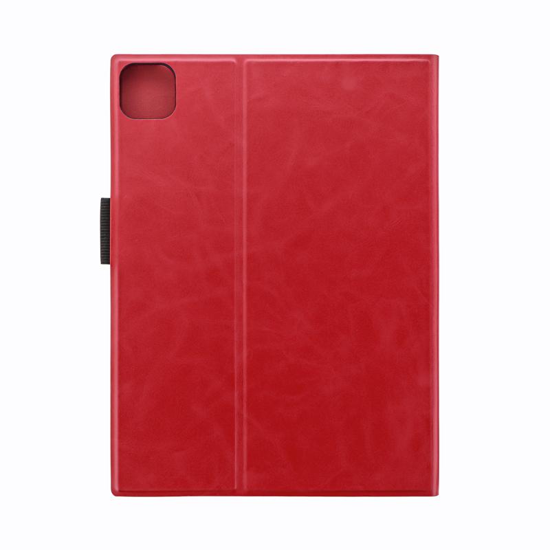 2021 iPad Pro 11inch (第3世代) 薄型PUレザーフラップケース「PRIME」  レッド