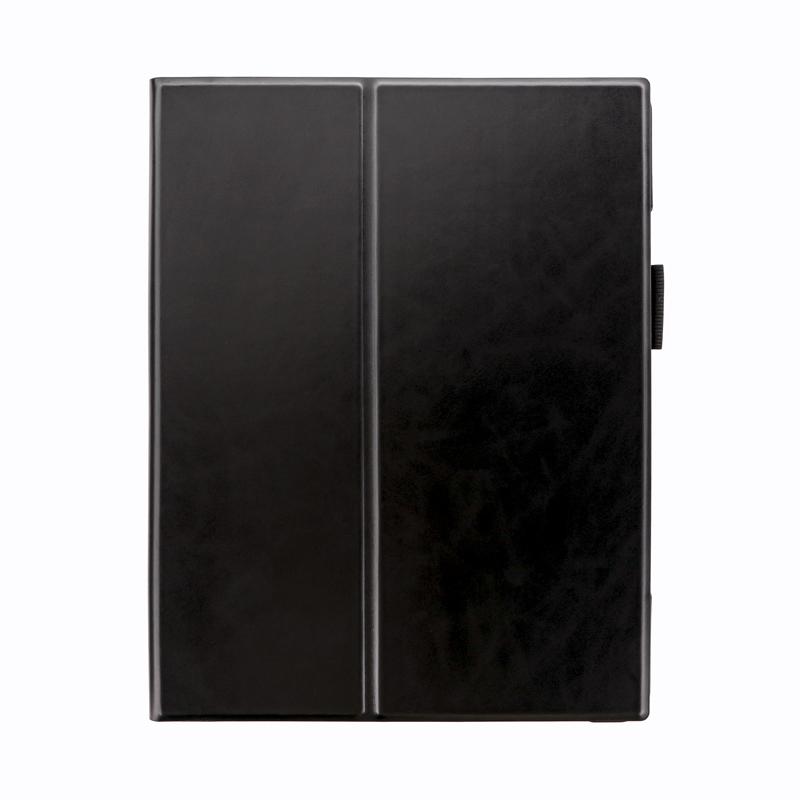 2021 iPad Pro 12.9inch (第5世代) 薄型PUレザーフラップケース「PRIME」  ブラック