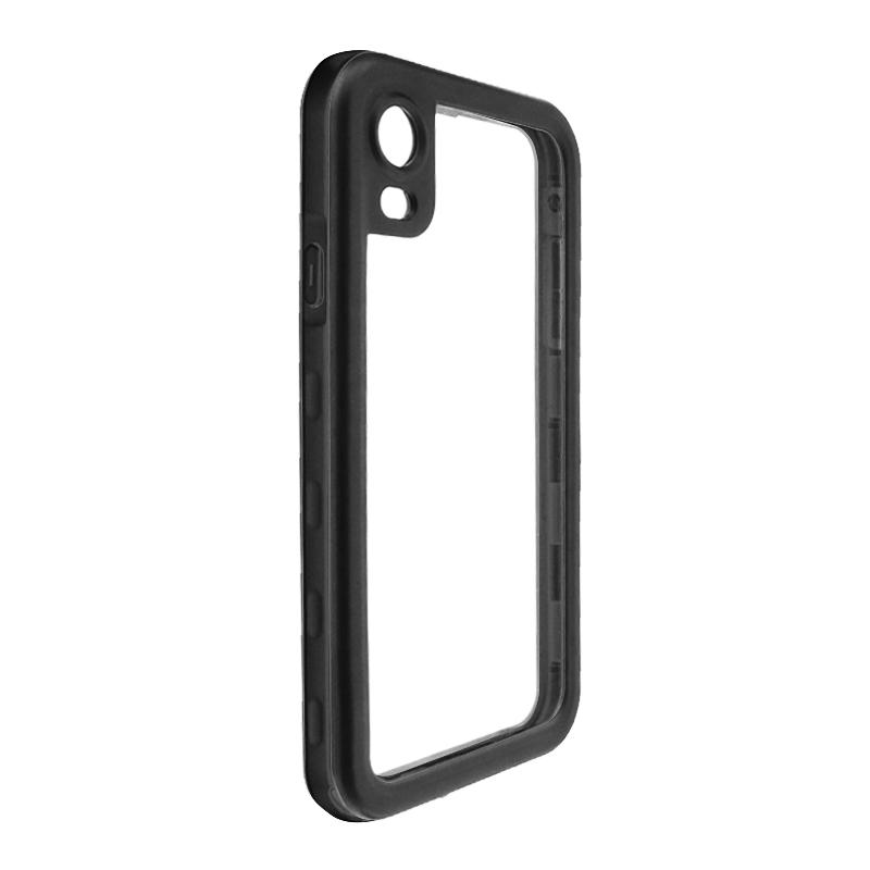 iPhone XR 防水・防塵・耐衝撃ケース「SLIM DIVER(スリムダイバー)」 ブラック