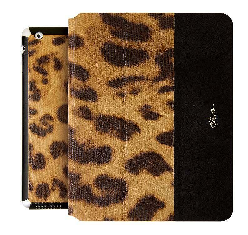 Viva Modaコレクション Ardiente[アテンデ] Leopardo Tawny Orange for iPad Air