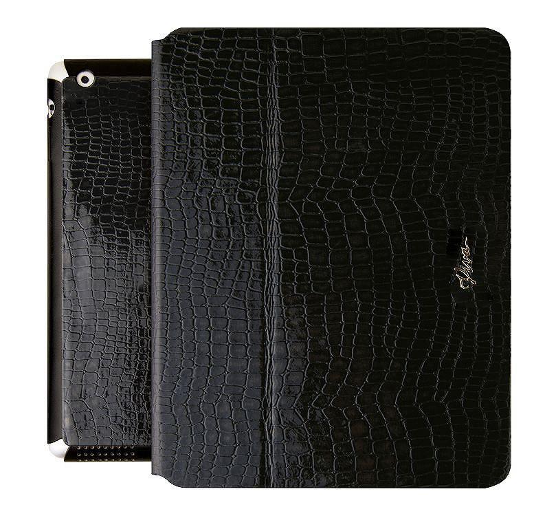 Viva Modaコレクション Ardiente[アテンデ] Serpiente Black for iPad Air