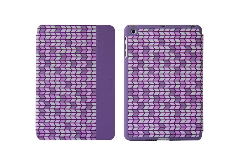 Viva Sabioコレクション Ilusion[イリュージョン] Flecha Purple for iPad Air