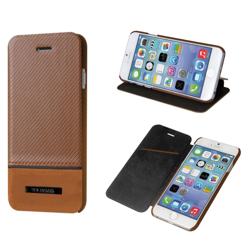 Viva Sabioコレクション  Serio[セリオ] Senor Mocha for iPhone 6(表面:Genuine leather 本革)(裏面:ポリカーボネート)