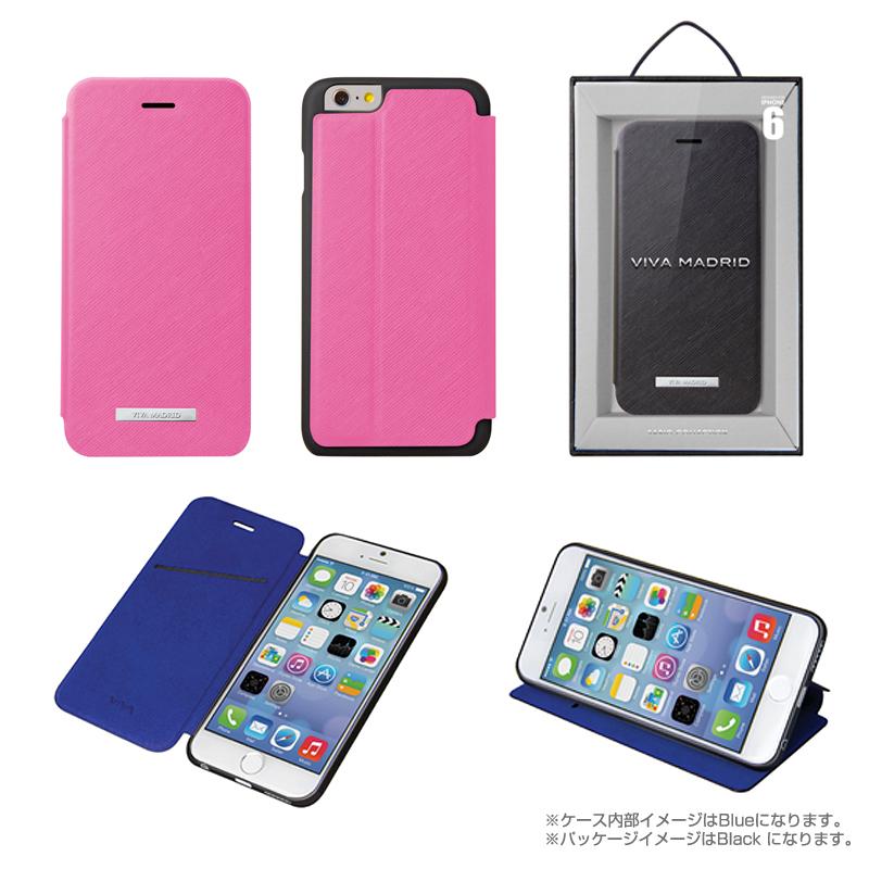 Viva Sabioコレクション Hexe[ヘス] Pink for iPhone 6_6S(表面:合皮)(裏面:TPU)