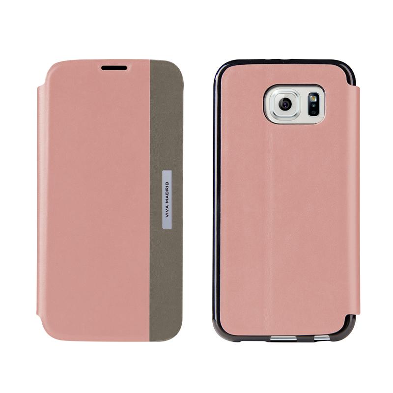 【VIVAMADRID】Galaxy S6 SC-05G Lucido(ルシード)/Berry Match(Pink)