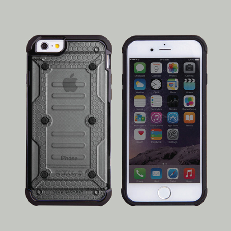 【VIVA MADRID】iPhone6/iPhone6S/AirArmor Collection/Smoke