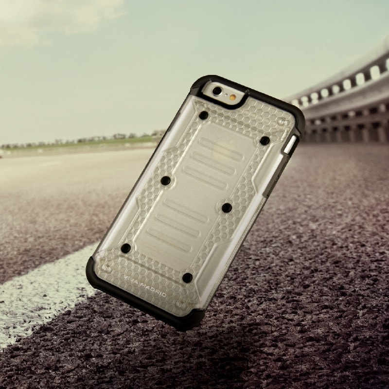 【VIVA MADRID】iPhone6/iPhone6S/AirArmor Collection/Smoke