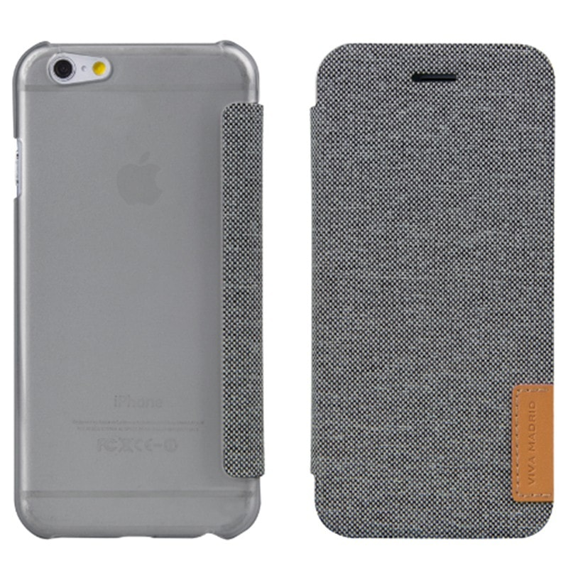 【VIVA MADRID】iPhone 6S/手帳型ケース/Colegio Collection/Colegio Esquire Coal
