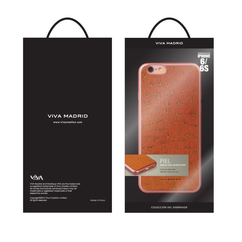 iPhone 6/6S シェル型ケース/Piel Collection/Becerro Brun