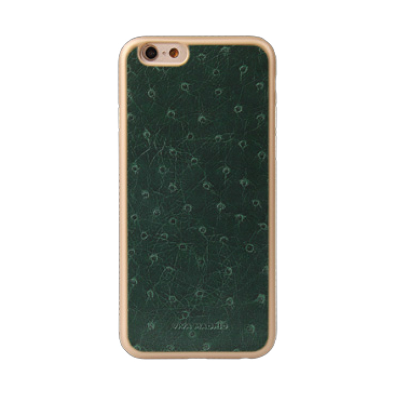 iPhone 6/6S シェル型ケース/Piel Collection/Olivo Hoja