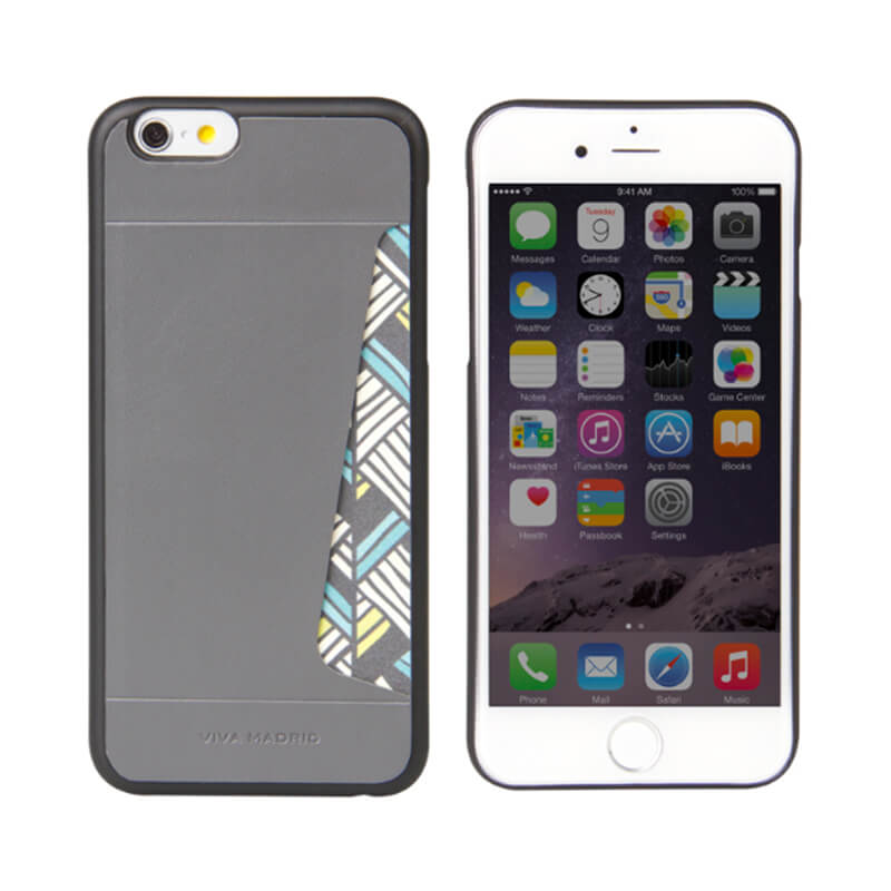 iPhone 6/6S/シェル型ケース/カード収納/MOD Collection/Espacio Gris