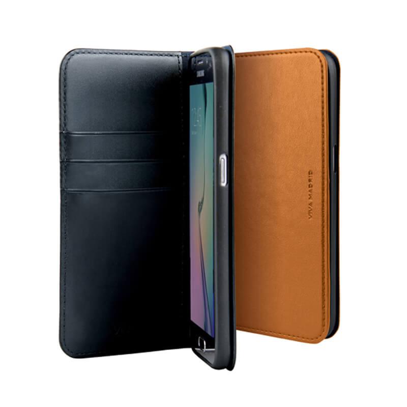 Galaxy S7 edge SC-02H/SCV33/手帳型ケース/Finura Collection/Finura Tierra Auburn