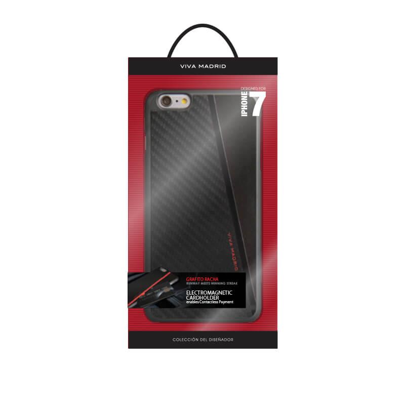iPhone7/シェル型ケース/Grafito Racha/Noir(ブラック)