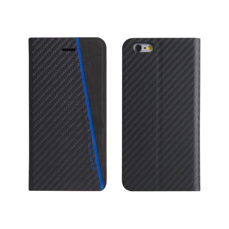 iPhone7/手帳型ケース/Grafito Racha/Electrico(ブルー)