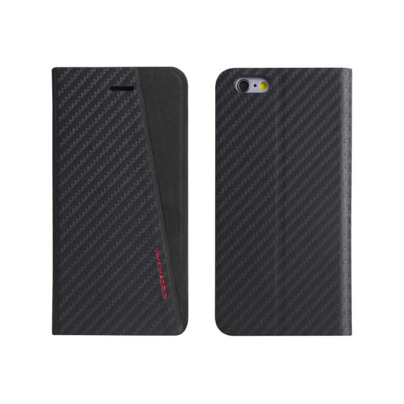 iPhone7/手帳型ケース/Grafito Racha/Noir(ブラック)