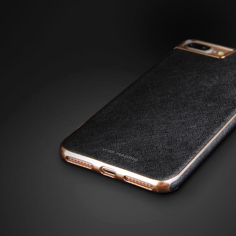 iPhone 7/シェル型ケース/PU仕様/Eterno Collection/Shadow(Black)