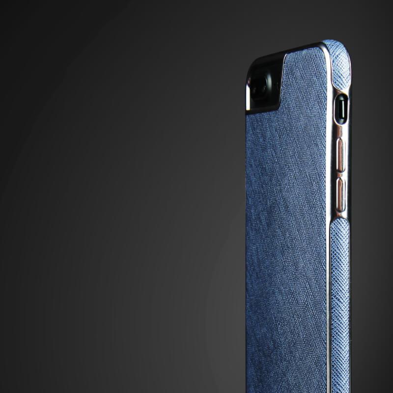 iPhone 7/シェル型ケース/PU仕様/Eterno Collection/Marine(Blue)