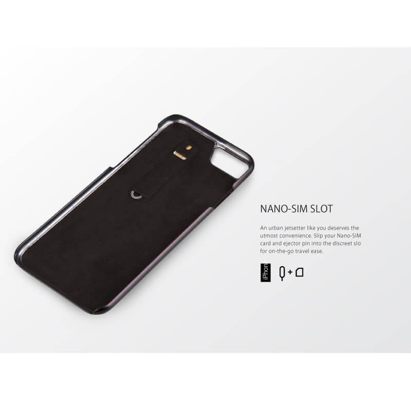 iPhone 7/シェル型ケース/スタッズ/Tacho Collection/Cobalt(Blue)