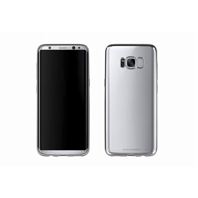 Galaxy S8 SC-02J/SCV36/シェル型ケース/メタルソフト/Metalico Flex/Ash Gunmetal